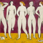 一個裸女2500萬…「五裸女」畫再度刷新常玉紀錄