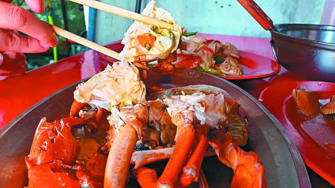 吃蟹配紫蘇葉 降低過敏反應