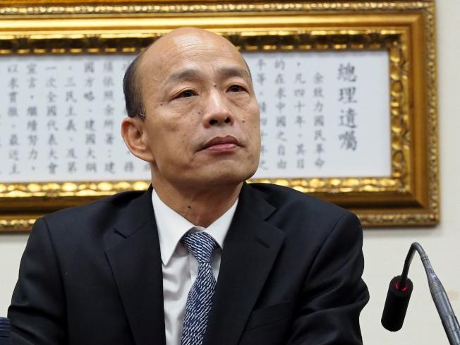 向澳洲投誠的「中國間諜」王立強聲稱,他曾捐錢給國民黨總統參選人韓國瑜,遭韓國瑜否認。(歐新社)