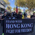 搗蛋大遊行 支持香港隊伍最龐大
