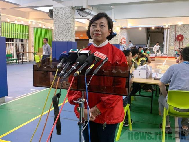 麥美娟表示,今次落敗與政府累積民怨有關。(取材自香港電台)