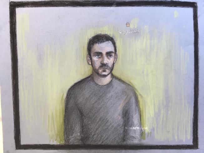 英國貨櫃屍案中的貨車司機羅賓森(Maurice Robinson)25日通過視頻出庭,承認串謀協助他人從事非法移民。(美聯社)