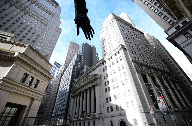 華爾街分析師對明年美股看法保守。(Getty Images)