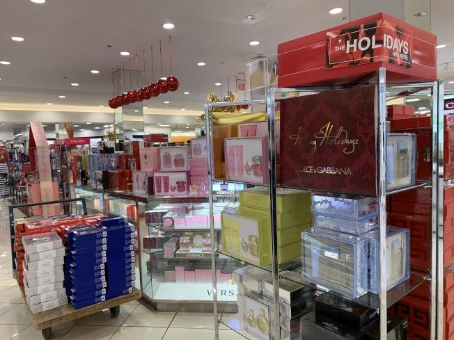 護膚和化妝產品黑五促銷多。(記者劉大琪/攝影)