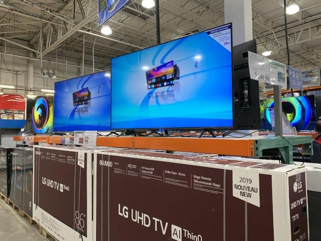 黑五是購買電子產品和家電的好時機。(記者劉大琪/攝影)