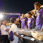 湖人、華美銀行感恩餐 鼓勵貧童