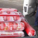 攜154磅墨西哥香腸闖關 遭沒收銷毀