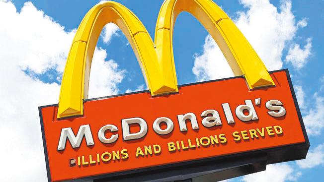 麥當勞和直營店員工纏鬥七年的官司終於以2600萬元和解。(美聯社)