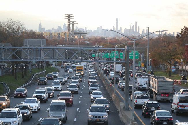 紐約長島快速道路。路透