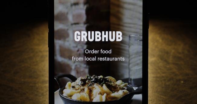 Grubhub一直是Uber的傳聞收購目標。(美聯社)