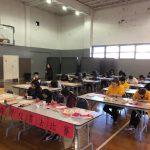 華僑學校書法比賽 盼學生習字培養耐心