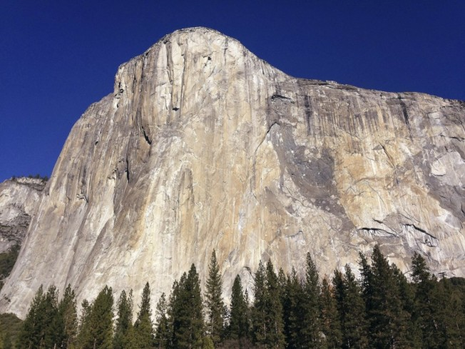 高3000呎的巨岩El Capitan。(Getty Images)