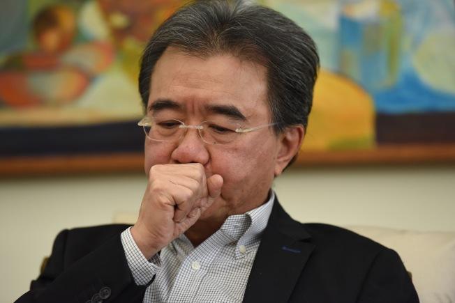 錢大康26日宣布明年任期結束就退休,他稱已過退休年紀,應該退位讓賢。(中通社資料照片)