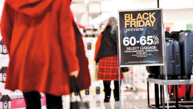 Fipps的大型民調發現,80%的美國人,願意犧牲感恩節晚餐,提早出發去商場找尋大減價的貨品。(Getty Images)