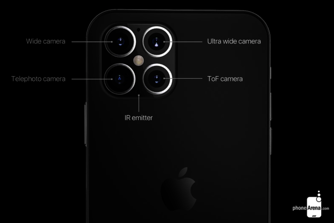 據傳新一代 iPhone12鏡頭將提升至4顆以上。(取材自instagram)
