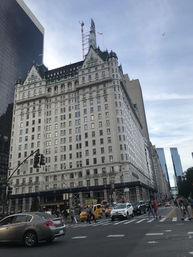 曼哈頓租金高漲已經讓租客退出曼哈頓,選擇在其他地區租屋。(記者邵冰如/ 攝影)