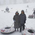 南加  大熊湖下大雪
