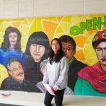 聖荷西高中新壁畫亮相 展現多族裔