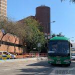 香港理工大學解封 警員陸續撤離校園