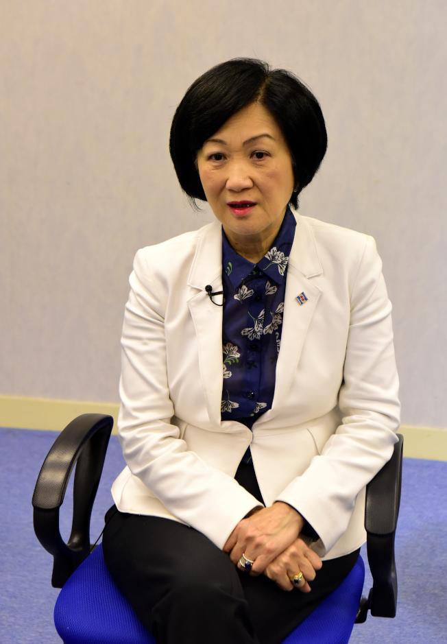 新民黨主席葉劉淑儀。(新華社資料照片)