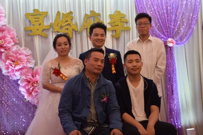 眾多華裔新人選在感恩節結婚。(記者顏潔恩/攝影)