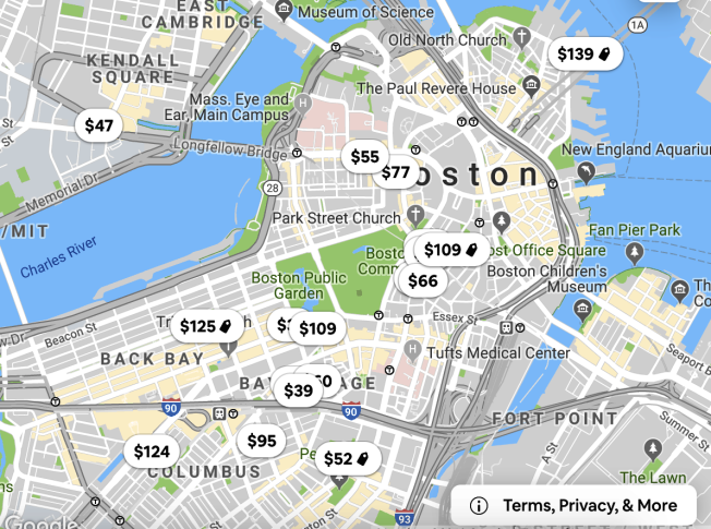 波士頓短租市場新規,12月1日開始實施。(截圖自Airbnb網站)