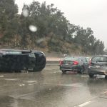 感恩節大雨 洛杉磯車禍頻傳