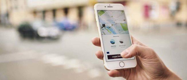 代叫運作方式:提供上下車地點,先叫車後付費。(Uber官網)