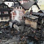 奧地利世遺小鎮  哈修塔特失火! 湖畔4木屋幾全毀