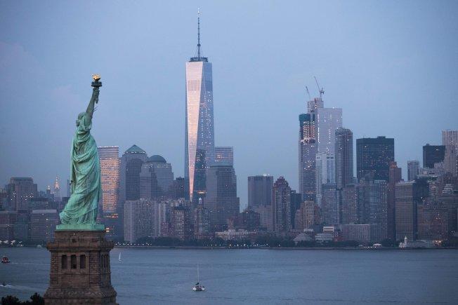 紐約是不少港人考慮移民時的首選目的地。(Getty Images)