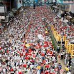 港今3起遊行 港媒:若和平進行 警或批准下周民陣遊行
