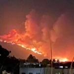聖塔芭芭拉縣野火燒4100英畝 危及民宅