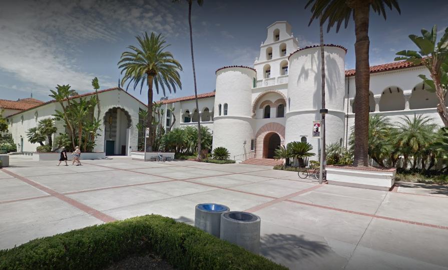 聖地牙哥州大(San Diego State university)/圖取自Google地圖
