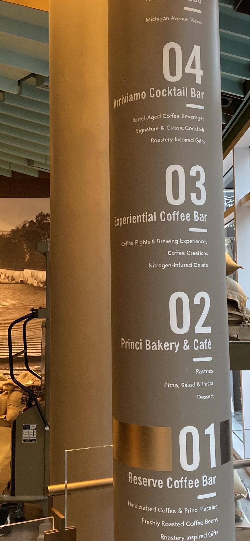 全球最大星巴克店,今在芝加哥開幕,四層樓高。特派員黃惠玲/攝影