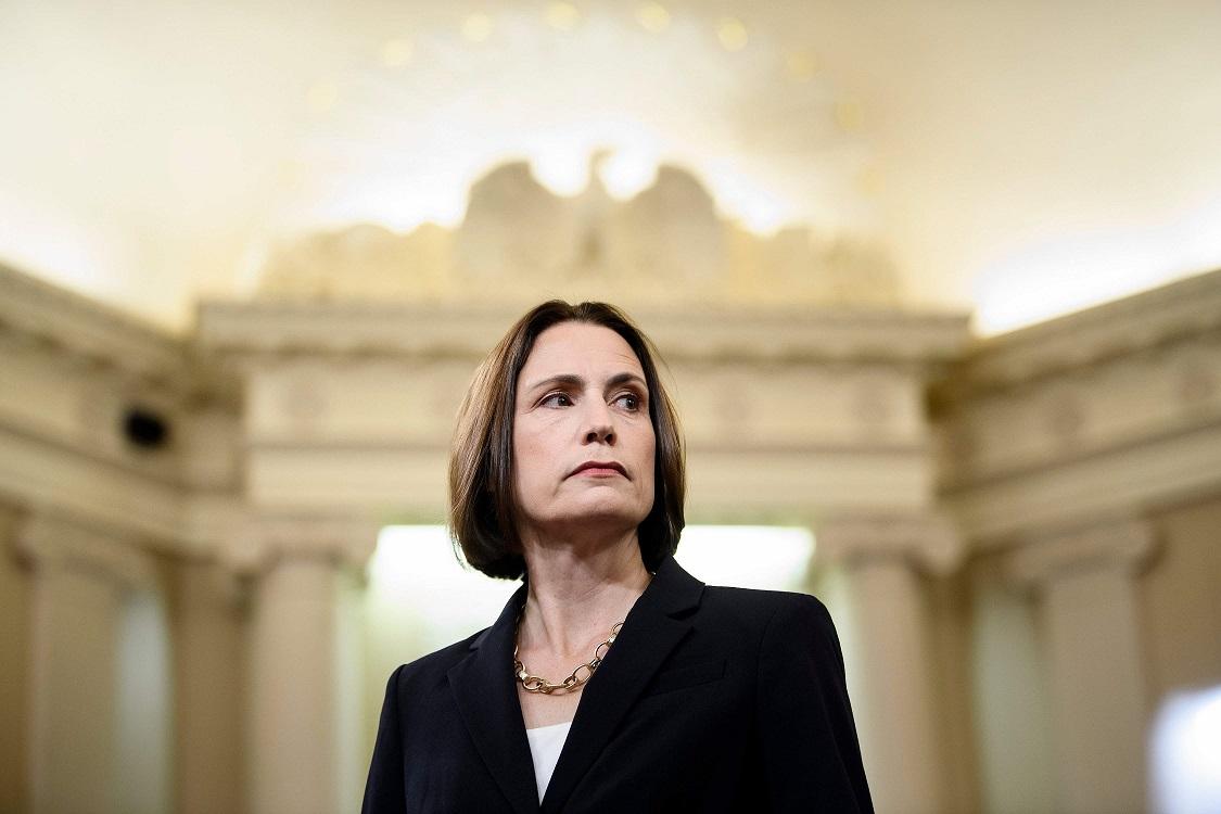 前任白宮俄羅斯顧問菲奧娜‧希爾21日在彈劾聽證會作證。(Getty Images)