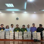 台越聯手 查扣價值15億海洛因磚