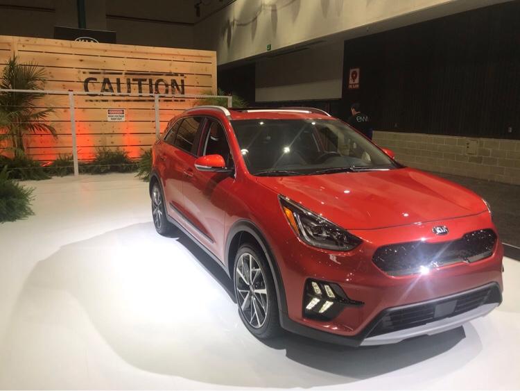 全新2020 Kia Niro Ev電動跨界車北美首亮相 世界新聞網