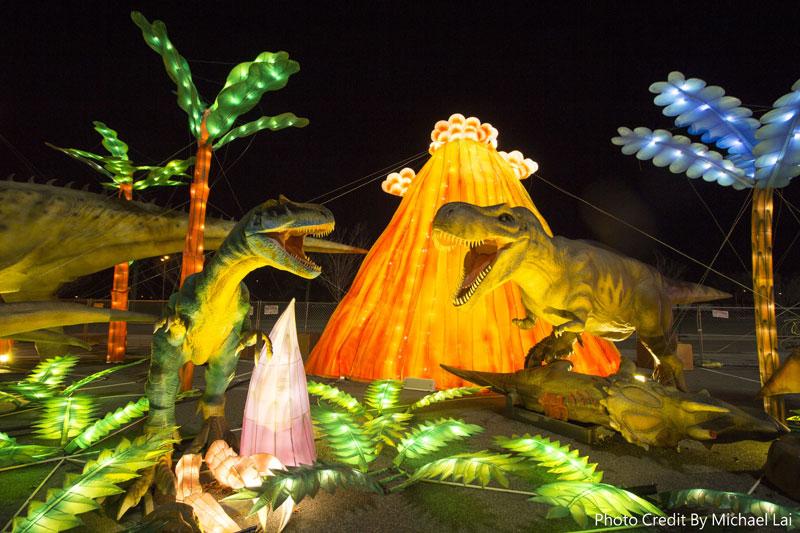 恐龍大世界。Michael Lai/攝影