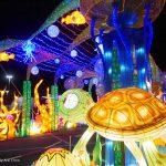 〈圖輯〉Citi Field 燈飾璀璨 華裔家庭打卡勝地-Hello Panda Festival
