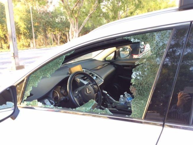 砸車盜竊激增 警方束手無策