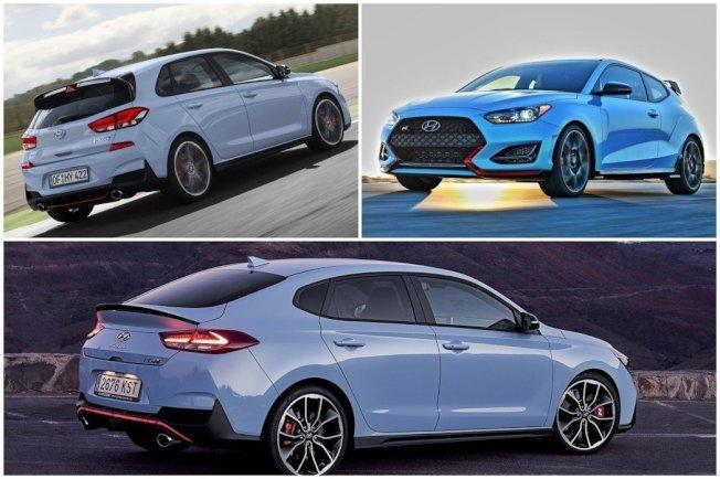 N Performance性能子品牌旗下有i30 N、Veloster N與i30 Fastback N三款性能車。(Hyundai)