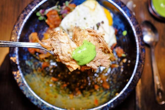 Kaiyō用日式角煮所作的一道豬肉菜色。