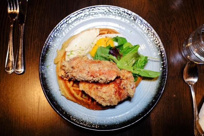 舊金山的Kaiyō主打「日系祕魯菜」,圖為以日式炸雞(唐揚げ)方式處理的炸雞。