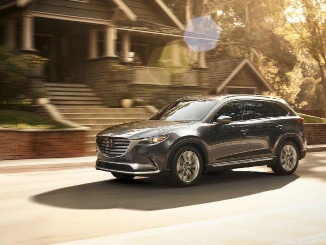 Mazda汽車發表2020年式美規CX-9七人座休旅。(Mazda)