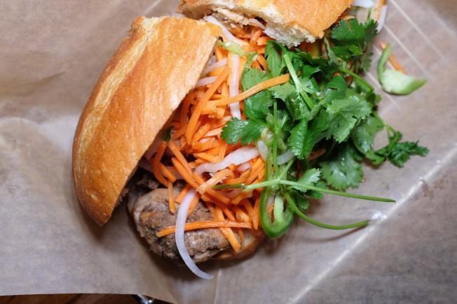 越南三明治充滿了濃濃的法國風。