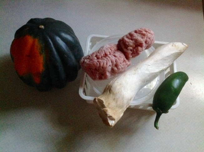 豬肉南瓜盅材料