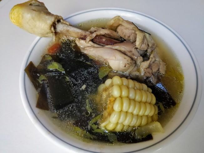 海帶玉米雞湯