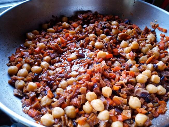 素食養生油飯材料