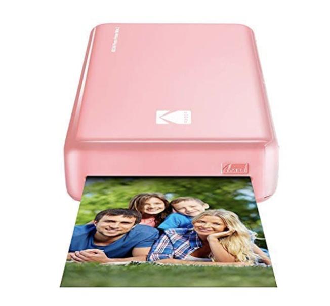 Kodak Mini 2相片打印機。(Amazon)