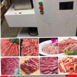 榕城餐具公司推出餐館廚房好幫手-多功能切肉機  切片、切絲、切丁,省時省力,清潔方便!